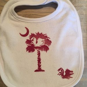 Other - Gamecocks baby bid and matching onesie